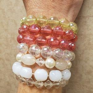 7 Stretch Bracelets